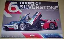 Le Mans - FIA WEC - 2017 6 Hours Of Silverstone - Ford GT #66 GTE Pro Blank Card