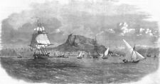 SPAIN. Spanish-Moroccan War. Alicante, antique print, 1860