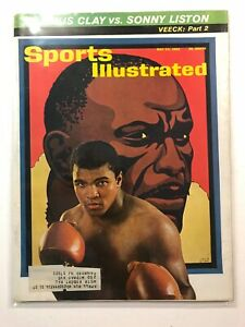 May 24,1965 Sports Illustrated Magazine Cassius Clay(Ali)/Sonny Liston