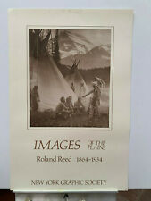 ROLAND REED 24X36 THE COUNCIL rare 1984 print never framed
