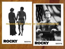 ROCKY Part 1 B&W Photo Set of 30 SYLVESTER STALLONE Apollo Creed CARL WEATHERS