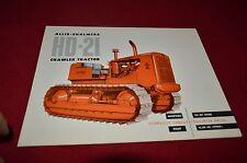 Allis Chalmers HD-21 Crawler Tractor Dealers Brochure YABE11 ver14