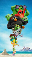 Movie The angry birds 2 14 X 24 Inch Silk Poster
