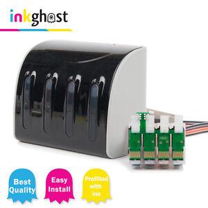 Inkghost 200xl CISS for Epson WorkForce WF2510 WF2520 WF2530 WF2540 Ink System