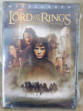 2002 LORD OF THE RING DVD Sealed The Fellowship of the Ring Widescreen WS Reg 1