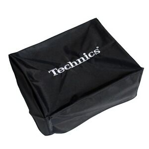 Technics Turntable Cover - Protect Your Deck (black/silver) Official Merchandise