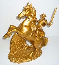 LEGEND OF ZELDA Statue Personnage Gold Nintendo Club #2416 nouveau de collection
