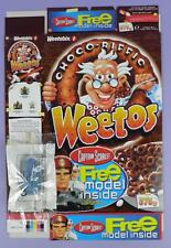 Captain Scarlet Weetos 375g Cereal Box & Model of Spectrum Pursuit Vehicle, 2003