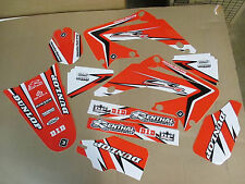FLU  PTS2 TEAM GRAPHICS HONDA CR125 CR125R CR250 CR250R CR  02 03 04 05 06 07 08