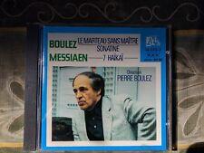 Pierre Boulez Le Marteau; Messiaen Sept Haiki Domaine Musicale Ades