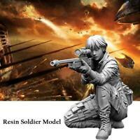 1/35 (50mm) Sharpshooter Kelley Female Sniper Resin H5H5 Soldier P2R1