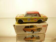 PAYA 8051 SEAT 1430 - RALLY #17 - YELLOW + RED 1:32 METAL - GOOD COND. IN BOX