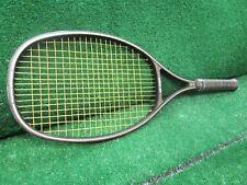 Tennis Yonex Vintage R-7 Graphite Composite Racquet Normal Use Org Leather 4 1/2