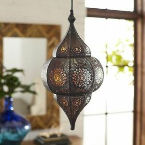 Moroccan Turkish Hanging Lamps Vintage Ceiling Lights Fixture Home Lantern Gifts