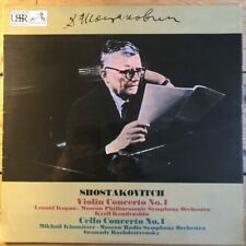 ASD 2585 Shostakovich Violin Concerto No. 1 / Cello Concerto No. 1 / Kogan etc.