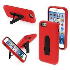 Fundas y carcasas Para iPhone 7 color principal rojo de silicona/goma para teléfonos móviles y PDAs