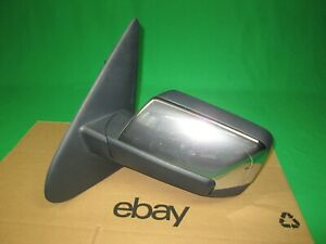 2007 2008 LINCOLN NAVIGATOR LEFT DRIVER SIDE POWER FOLD DOOR MIRROR CHROME USED