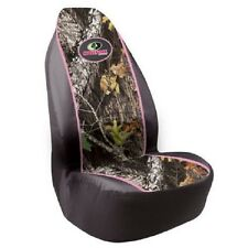 Mossy Oak Camo Pink Seat Cover, Universal Fit Car Auto Truck Camouflage Pair