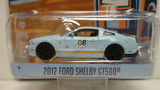 Greenlight 2012 FORD SHELBY GT500 Light Blue GULF '12 RUNNING ON EMPTY S2