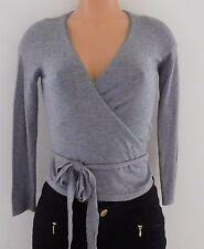Molly Bracken Women's Knit Bolero Sweater Grey Size Small NWT