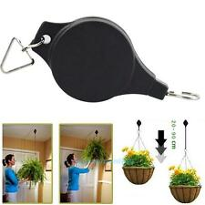 Retractable Pulley Hanging Basket Pull Down Hanger Garden Baskets Pot