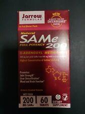 Jarrow Formulas SAMe 200 Full Potency 200mg 60 Tablets