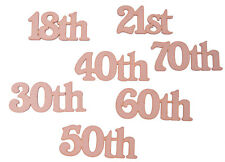 MDF Wooden Numbers Coming Of Age Birthday Numbers Celebration Joined Numbers