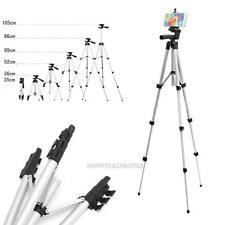 Professional Camera Tripod Stand Holder for iPhone Samsung + Phone Holder + Bag