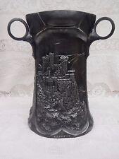 Antique German WMF Large Silverplate Wine Cooler Castle Scenes