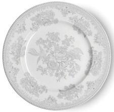 Burleigh dinner plate dove grey Asiaitc Pheasants 25.5cm