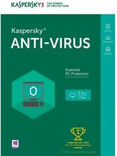 Kaspersky Anti-Virus - 3 PCs (PC Software), New