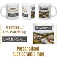 Emmerdale 10oz ceramic personalised mug  Birthday Christmas Mothers Day gift