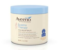NEW AVEENO ECZEMA THERAPY ITCH RELIEF BALM 11oz Colloidal Oatmeal Skin Protector