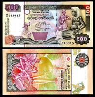 SRI LANKA 500 RUPEES 1995-11-15 P 112 UNC