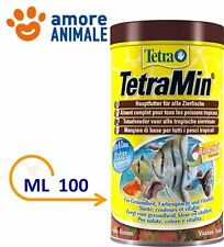 Tetra TetraMin 100 ml - Mangime in fiocchi per pesci tropicali in acquario