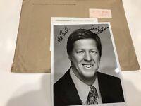 David Hartman Autographed 8x10 Photo Popular American Journalist 1978