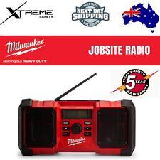 Milwaukee M18 Job site Radio 18v Work Radio AM/FM USB Charger