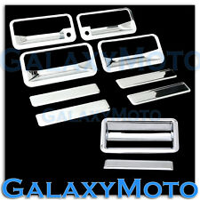88-98 CHEVY C+K 1500+2500+3500 Triple Chrome 4 Door Handle+PSG KH+Tailgate Cover