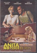 Anita No Pierde El Tren DVD NEW Rosa Maria Sarda y Jose Coronado SEALED