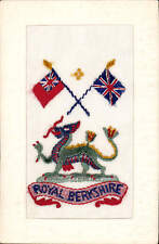 WW1 Regimental Silk. Royal Berkshire Regiment.