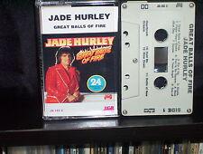 JADE HURLEY GREAT BALLS OF FIRE - ULTRA RARE AUSTRALIAN CASSETTE TAPE NM