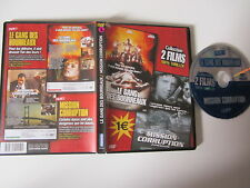 Le gang des bourreaux(B.Eagle) + Mission corruption(S.Rodnunsky), DVD, Thriller