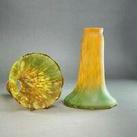 Tulipe style Art nouveau marmoréen