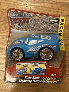 Bling Bling Dinoco McQueen Lightning McQueen SHAKE n GO CARS Disney