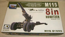 "AFV Club 1/35 US M115 8"" Howitzer Model Kit"