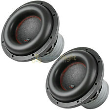 "2 Pack Audiopipe 10"" Subwoofer Dual 2 Ohm 1800W Max Quad Stack Magnet BDC4 10D2"