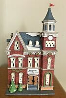 Vintage Dept. 56 Heritage Village Collection Brighton School Light Up Porcelain