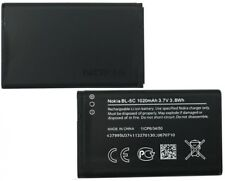 Original Akku BL-5C Nokia C1-00 C1-01 C2-00 C2-01 C2-02 C2-03 C2-06 E50 E60 Accu