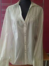 ESPRIT   tres belle  chemise legerement transparente  t 42/44   EXCELLENT ETAT
