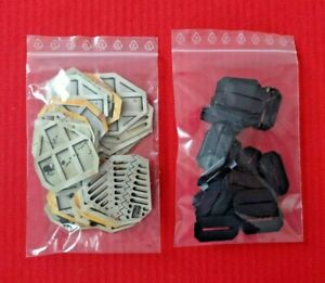 Space Crusade Board Game Set of 21 Doors & Bases All Styles of Doors Included